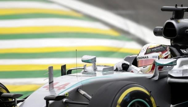 F1: Hamilton più veloce in ultime libere