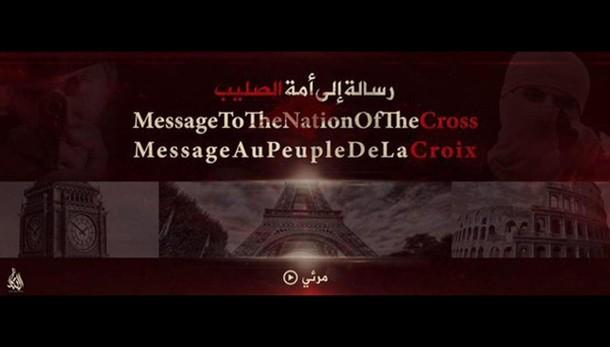 Video Isis minaccia cristiani