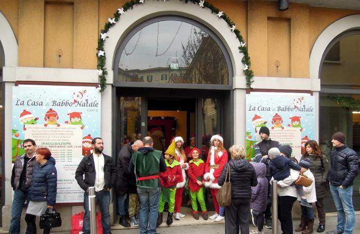 new style 5fffe 48040 Cantù a misura di bimbo Ecco la casa di Babbo Natale - Cantù ...