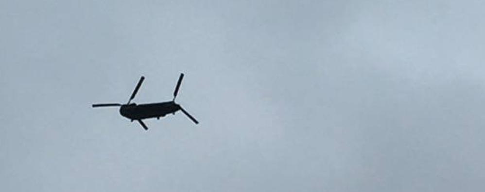 Elicotteri Militari Svelato Il Giallo Sono Solo Le Prove Di Volo Di