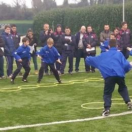 Lezioni pratiche di calcio  Sabato clinic ad Orsenigo