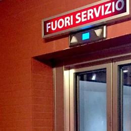 Erba, ascensore della stazione  Collaudo fatto, ma resta fermo