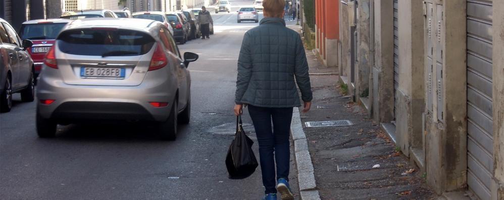 Dopo l'asfalto, i marciapiedi  Nuovi lavori a Cantù