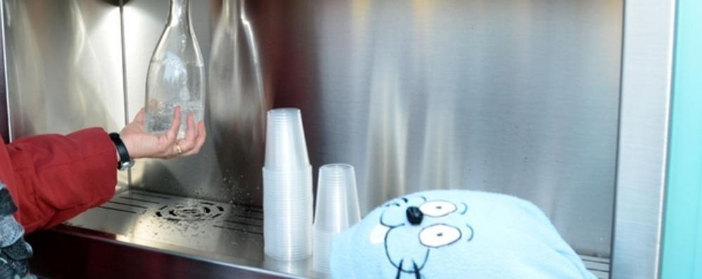 Casette dell'acqua anche a Como  Per un litro 4 centesimi
