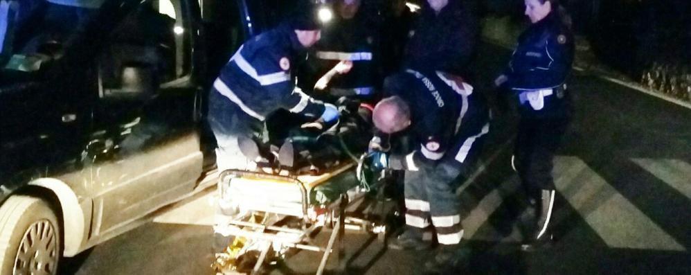 Incidente a Sagnino  Ciclista investe pensionata