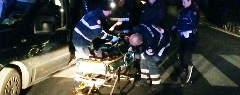 Incidente a Sagnino  Ciclista investe pensionata