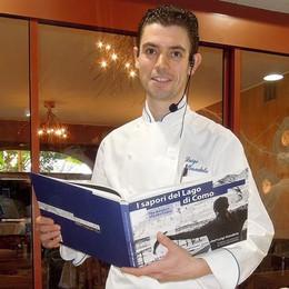 Il libro dello chef Gandola  per  la chiesa di Bellagio