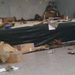 Folle raid in Val d'Intelvi   Distrutti presepi e addobbi