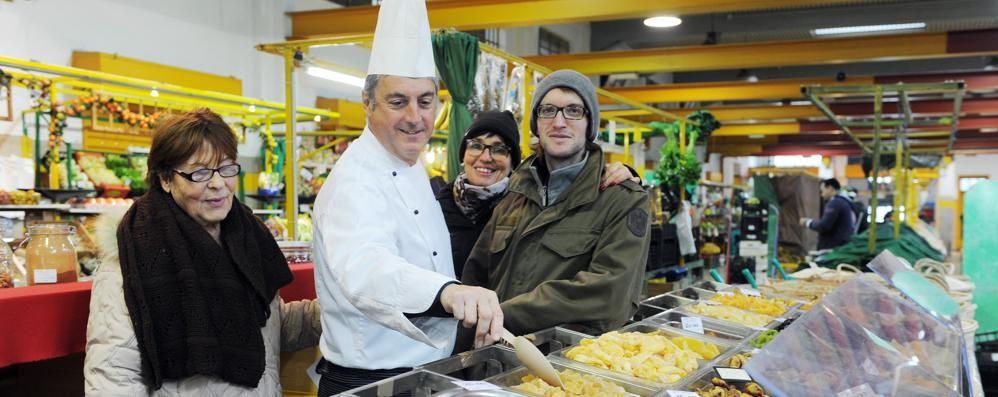 Al mercato con lo chef  Per un Natale comasco