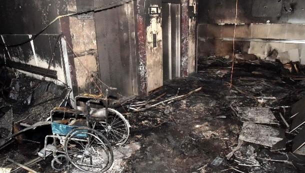 Incendio ospedale saudita, decine morti