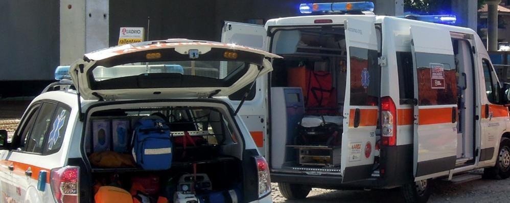 La vigilia inizia con due incidenti  Tre feriti a Erba e Figino Serenza