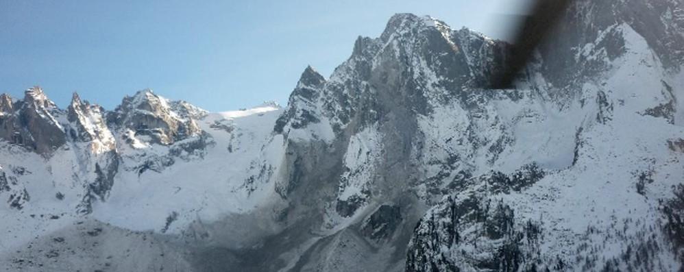 Ancora una tragedia in montagna: comasco e lecchese morti sul Bernina