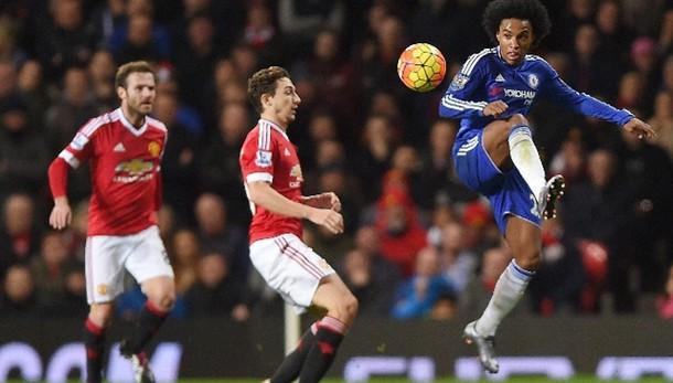 Premier, 0-0 tra United e Chelsea