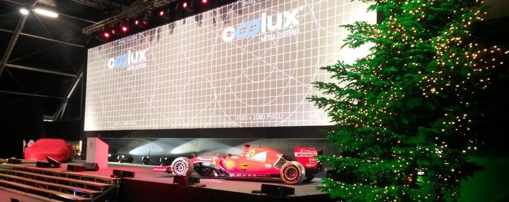 Il Natale della Ferrari  arriva grazie a Erba
