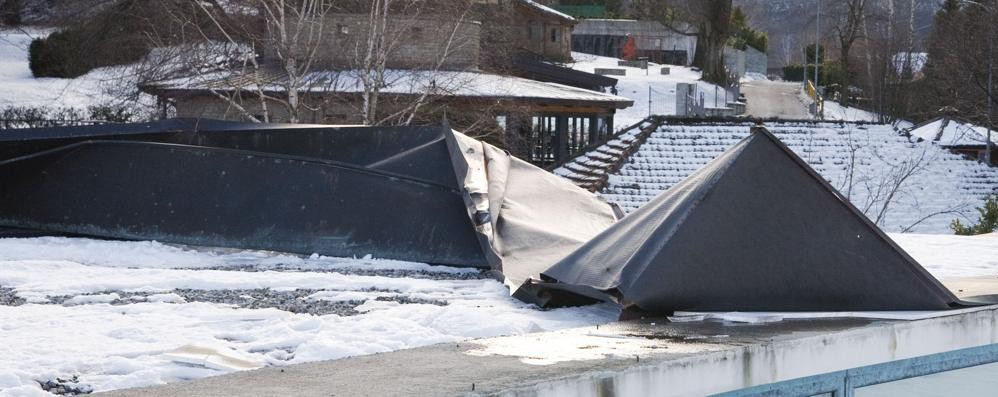 Museo del Ghisallo, il vento si accanisce  Danni al tetto per diecimila euro