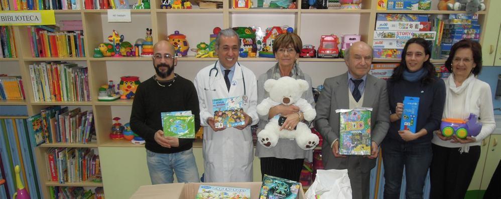 Pediatria a Cantù  Ecco i doni dell'Unicef