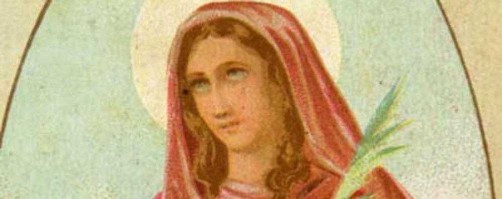 Santa Apollonia, biografia con gaffe  L'ira del sindaco sulla Pro Cantù