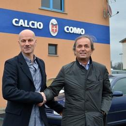 Il presidente del Como  «Lotito ha il mio sostegno»