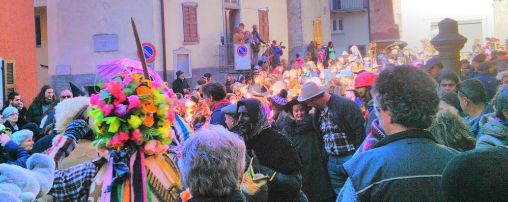 Festa finale a Schignano per il grande Carnevale