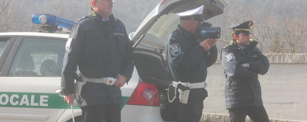 Troppi incidenti    A Lipomo c'è il telelaser