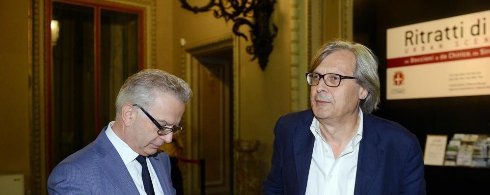 Expo, Lucini replica a Sgarbi  «Spazi espositivi già esauriti»