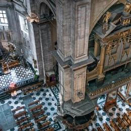Il Duomo visto dall'alto  Lo splendore del grande restauro