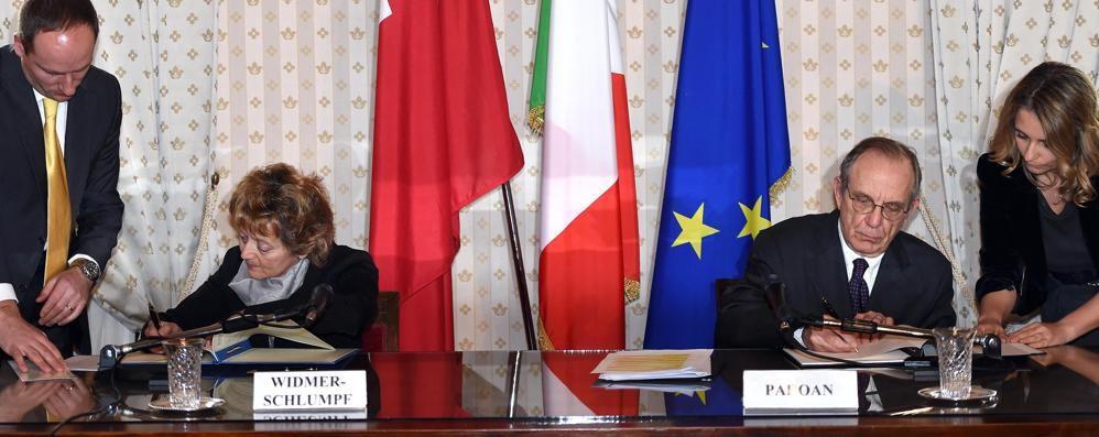 Svizzera e italia  La rivincita politica