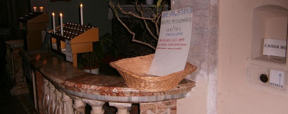 Rubano il cibo per i poveri  «Non lasciatelo in chiesa»