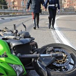 Cernobbio, morto il motociclista caduto