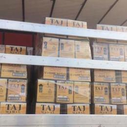 Quindicimila bottiglie di birra  sequestrate in Dogana