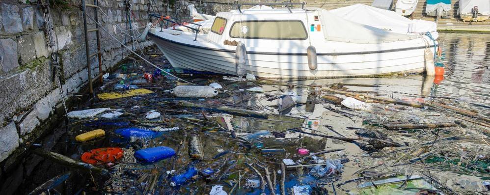 Il Lago sporco  vergogna di Como