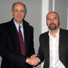 Bizzozero e Passera, prove d'accordo  «L'ex ministro? Serio e competente»