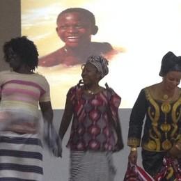 Due pezzi d'Africa a San Fermo  Per un messaggio di solidarietà