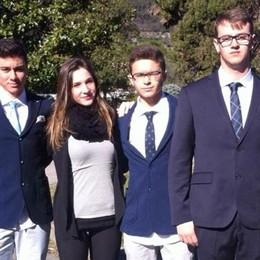 Il Fermi come Strasburgo  Gli studenti fanno l'Europa