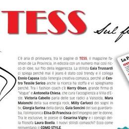 """Ecco il ritorno di """"Tess""""  In edicola con La Provincia"""