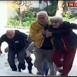Due comaschi nell'inferno di Tunisi. Sono scappati dal museo