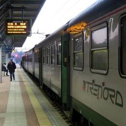 Merone-Asso, fine settimana senza treni