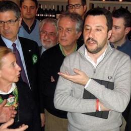 Salvini a Novedrate: chiuderemo le Prefetture