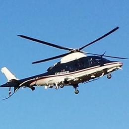 Carabinieri, controlli antidroga con l'elicottero