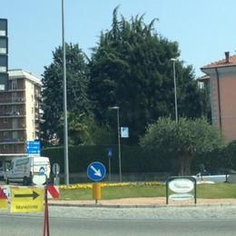 Varesina: apre il cantiere   Chiude la strada