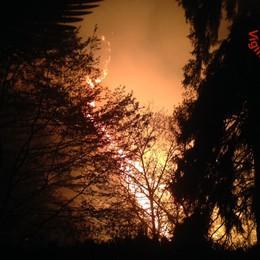 Vigili del fuoco - Incendio Lezzeno