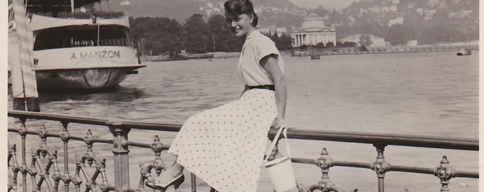 Como e il parapetto storico, quanti ricordi Mandateci le vostre foto sul lungolago