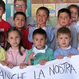 Asnago, nuovo appello dei bimbi  «Ridateci anche la Madonnina»