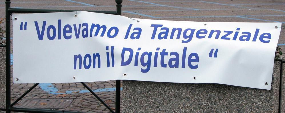 Tangenziale di Tirano, giorno ad alta tensione