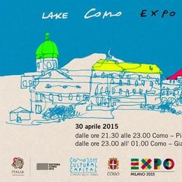 """Como, in piazza c'è """"Expo night""""  Notte bianca con musica e spettacoli"""