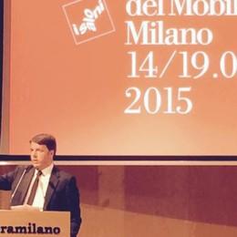 Renzi al Salone del Mobile  «Il bonus resterà»