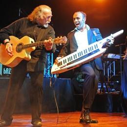 I quarant'anni dei Matia Bazar   A Erba le prove e il primo concerto