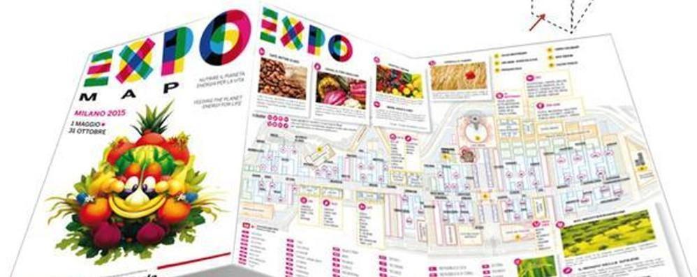 Oggi in regalo con La Provincia la mappa dei padiglioni Expo