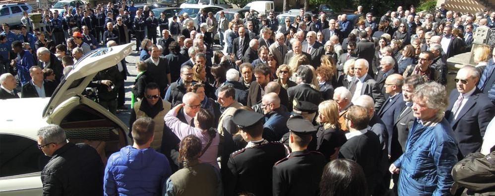 Cantù, il commosso addio a Francesco Corrado