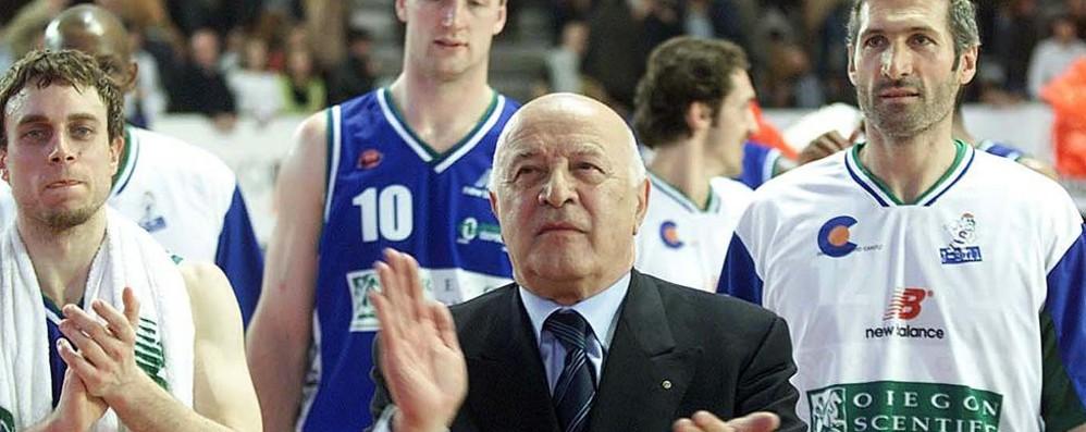 E'  morto Francesco Corrado  Salvò il basket canturino  Giovedì i funerali